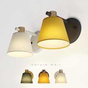 wall light natura 3D