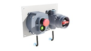 industrial power switch 3D