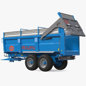 3D maupu 18t body tipper