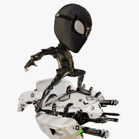 Cartoon Spider Man Night Monkey fight Mysterio's Drones