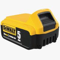 DEWALT DCB205 20V MAX XR 5Ah Lithium Ion Battery