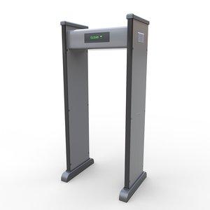security metal detector - model
