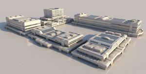 futuristic constructions 3D