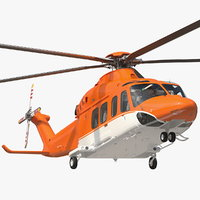 Medium Sized Twin Engined Helicopter