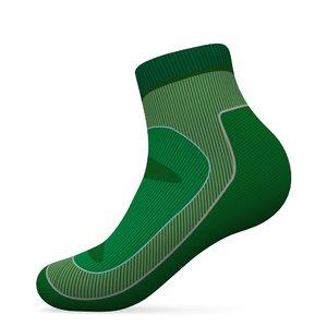 sock v1 3D model