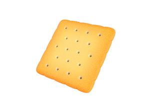 square cracker 3D model