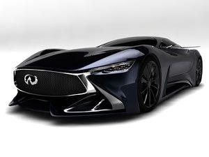 infiniti sport car 3D model
