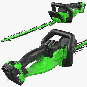 cordless electric hedge trimmer model