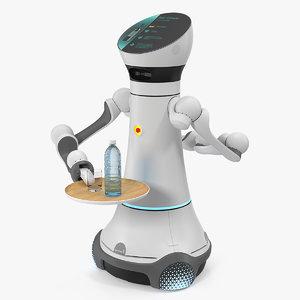 4 robot bartender careobot 3D