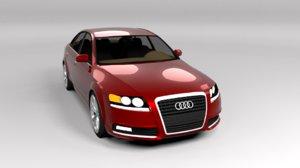 audi a6 2009 3D model