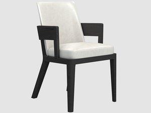 3D robinson armchair liaigre