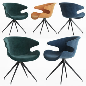 3D mia dining armchair zuiver
