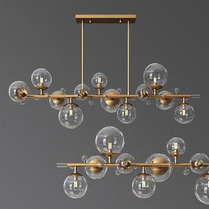 3D - troon chandelier arteriors