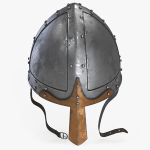 norman helmet 3D model