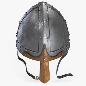 norman helmet 3D model