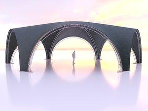 3D tent