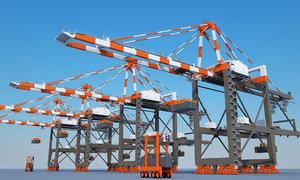 3D crane harbour