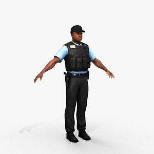3D security guard