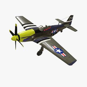 north p-51 american model