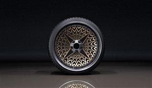 wheels rim c4bt 3D