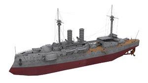 ship barbaros 3D model
