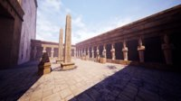 Modular Egyptian Temple