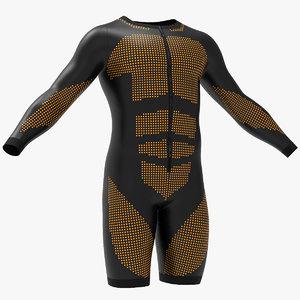 3D colting wetsuit men