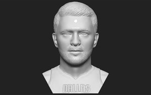 3D luka doncic bust printing model