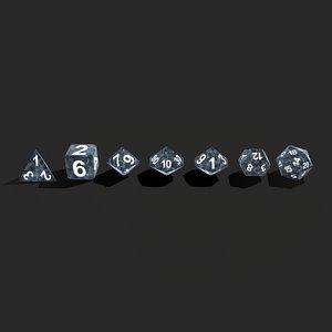 3D rpg dice