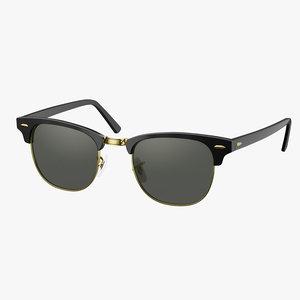 sunglasses classic style green model