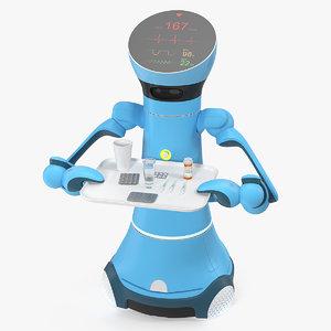 medical service robot medicine 3D