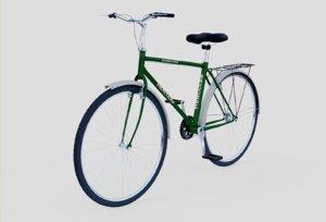 3D bicycle hercules model