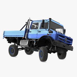 3D model mercedes benz unimog 4023