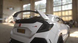 3D car vehicle model