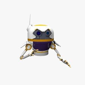 3D medic drone model