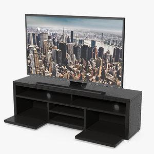 3D modern tv stand