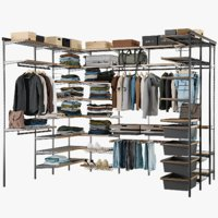 Wardrobe System With Clothing 4