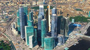 moscow city model