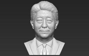 japan shinzo abe bust model