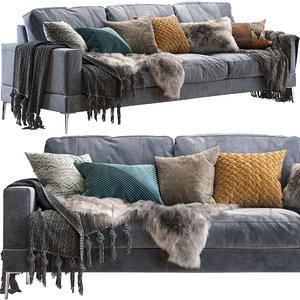 3D pohjanmaan capri sofa 258