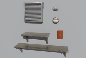 3D pack industrial props
