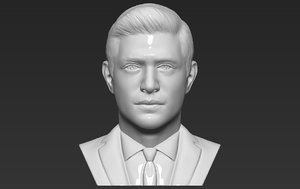 3D model dean winchester bust printing