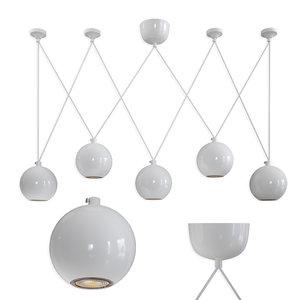 3D pendant lamp led favorite model