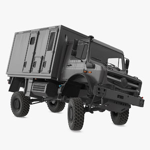 3D model road vehicle rigged