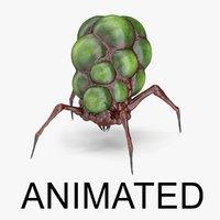 Alien Creature  ANIMATED
