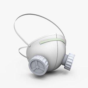 3D mask respirator