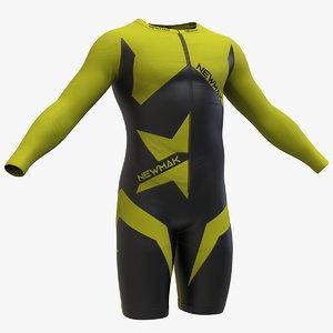 3D colting wetsuit men v2