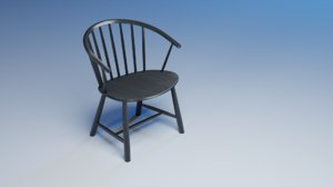 johansson j64 chair - 3D