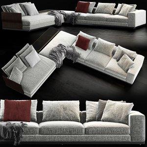 minotti west sofa model
