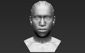 tyga bust printing 3D model